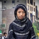 Poor Beggar Girl On Roadside In Gulberg Lahore During Thaap International Photo Walk